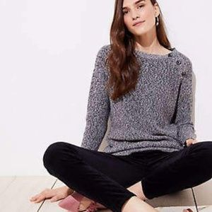 Loft Marled Sweater